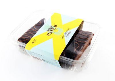 Торта шоколадов ганаш