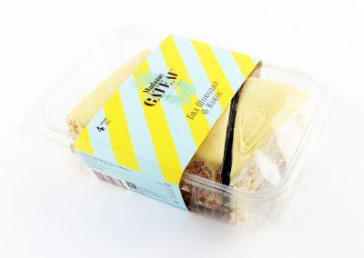 Торта с бял шоколад и кокос
