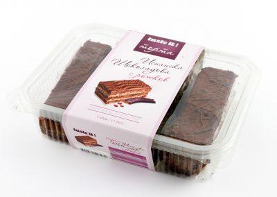 Испанска шоколадова торта с рожков